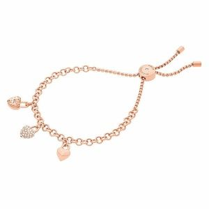 Michael Kors Stainless Steel Rose Gold Bracelet